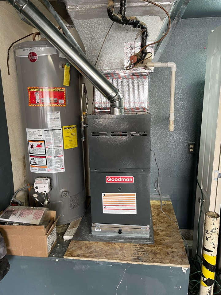 Palmdale, CA - New furnace for another happy customer!