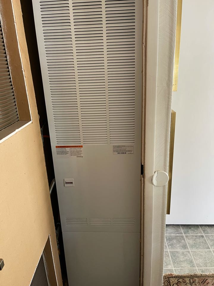 Dow flow furnace install!