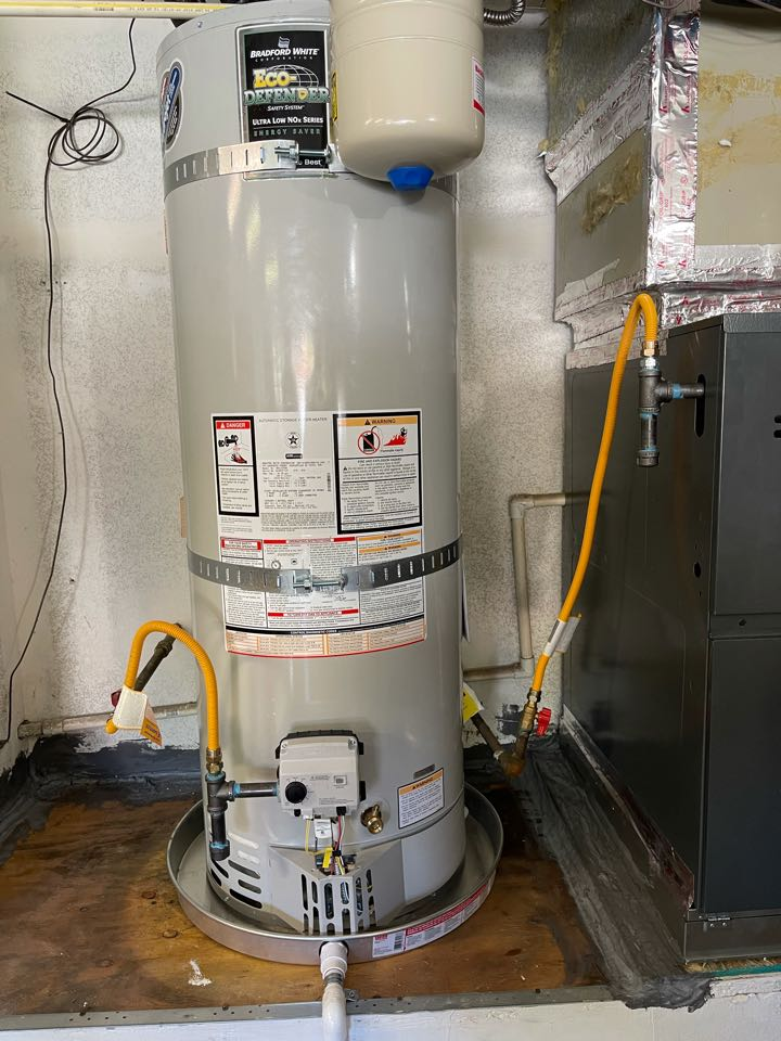New water heater install!