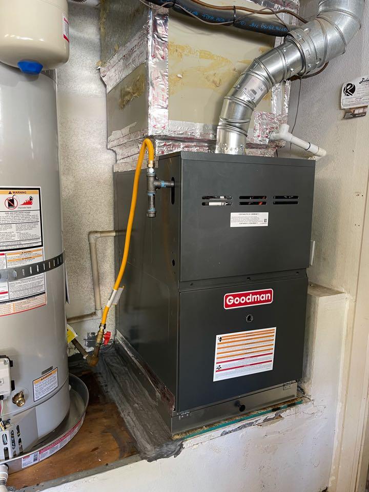New furnace install!