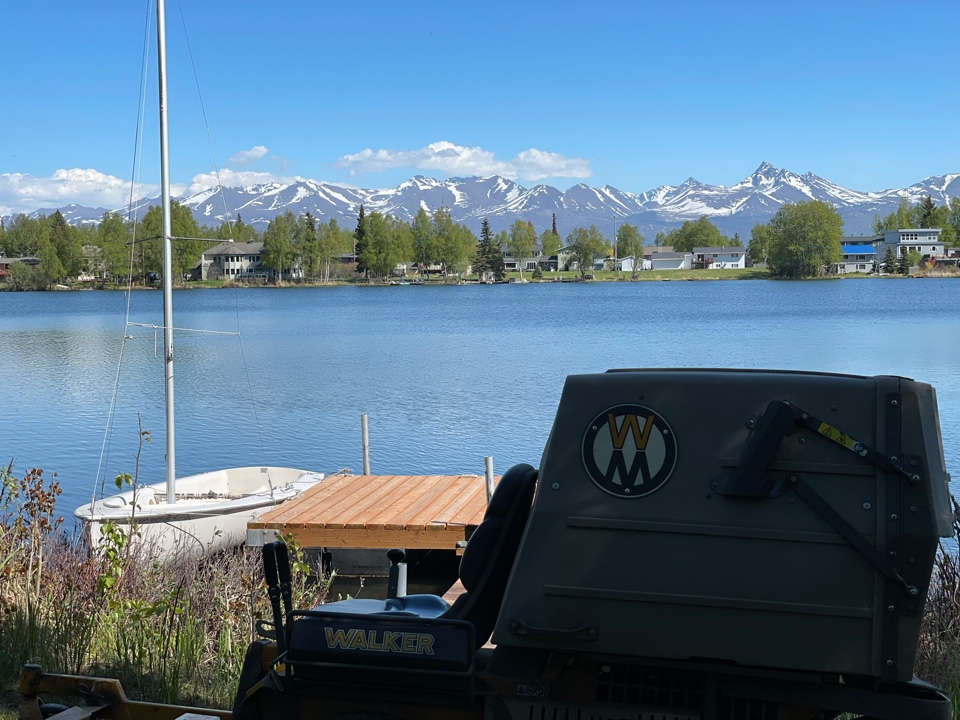 Anchorage, AK - Not all lawn views are treated equal.