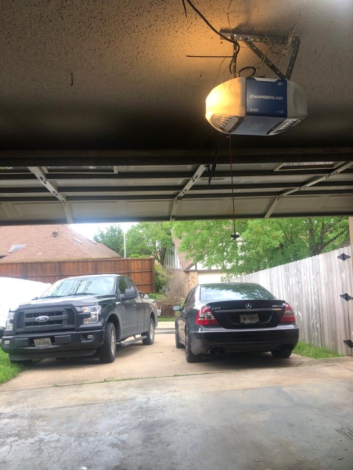 Garland, TX - Door off track in Garland