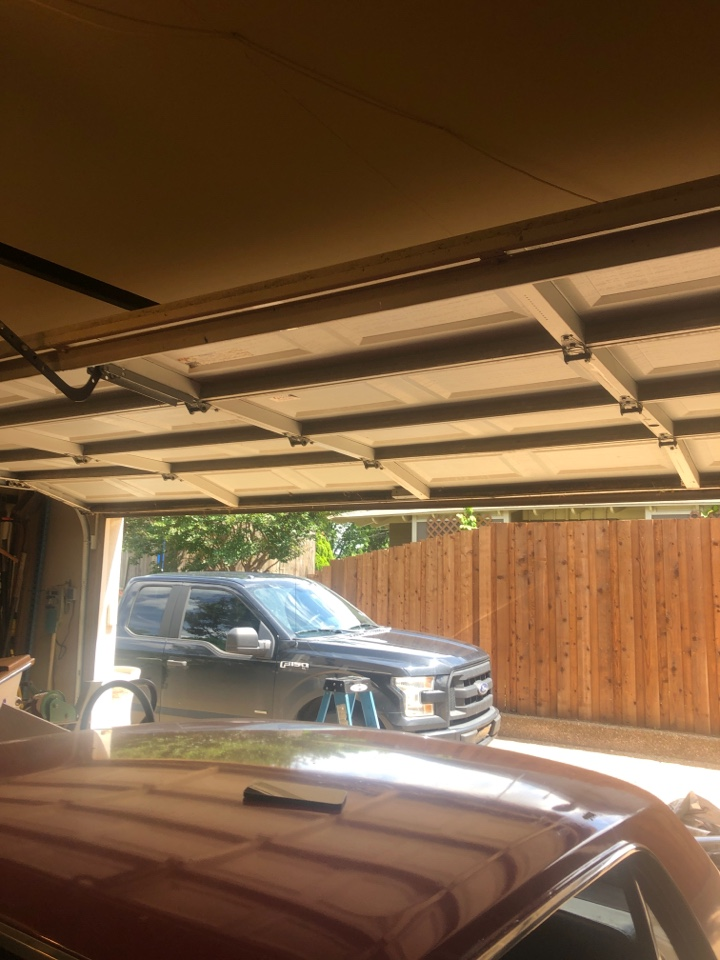 Grapevine, TX - Garage spring replace in Grapevine