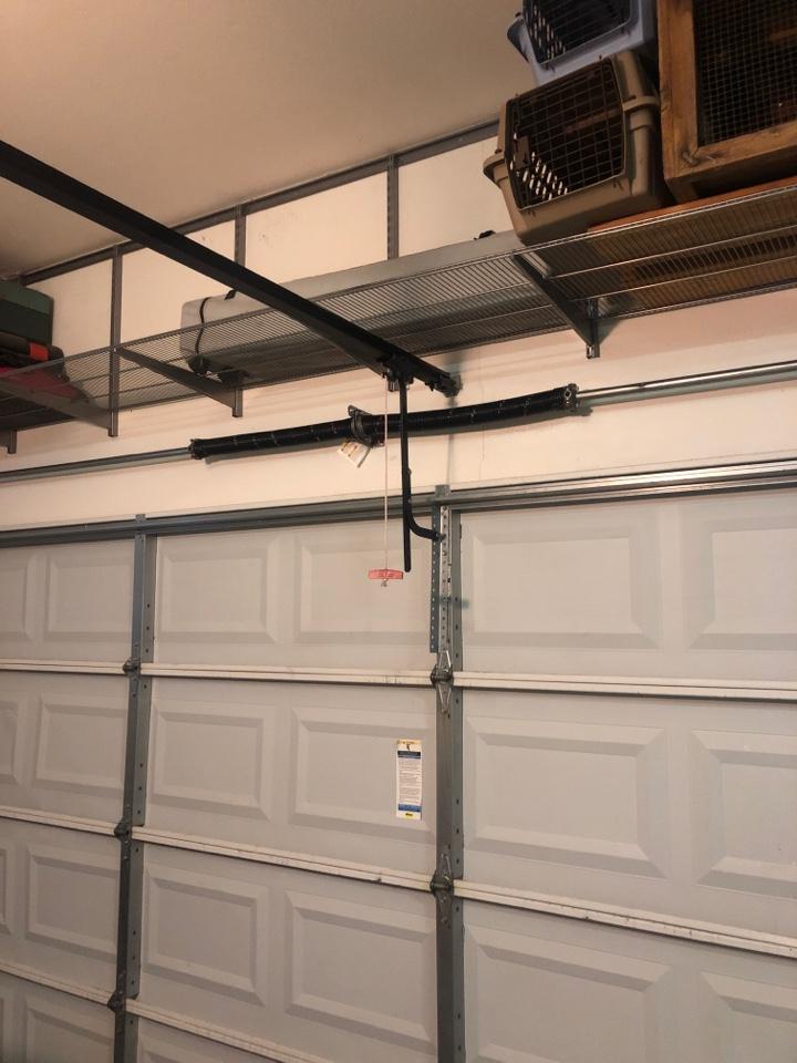 Frisco, TX - Replaced garage door spring in Frisco.