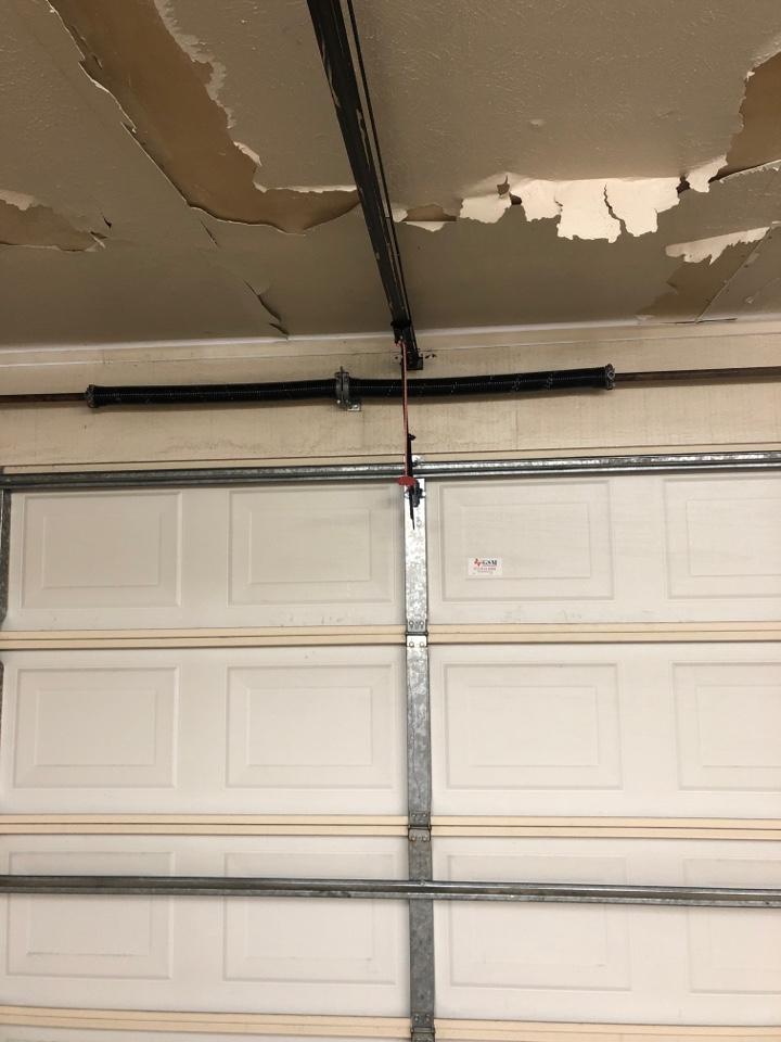 Dallas, TX - Garage door spring replacement in Dallas