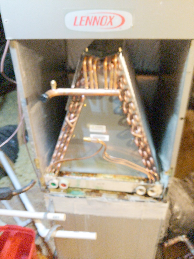 Indian Trail, NC - Replacing evaporator coil