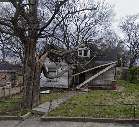 This old house is falling down, and has foundation issues. Also been vacant for 4 years. The seller is a bit hesitant to sell due to condition, but that's what we are here for! We buy properties regardless of the condition, and we buy them CASH!