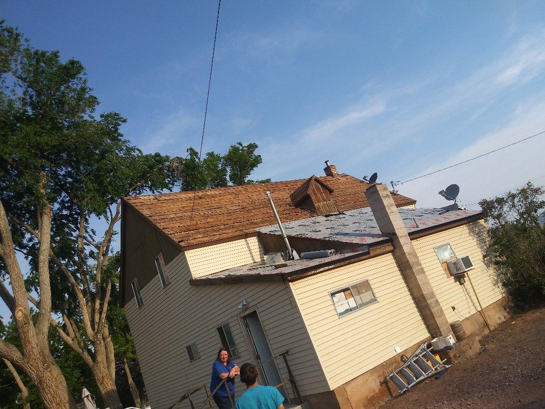 Parowan, UT - Foaming  11/12 17 square house