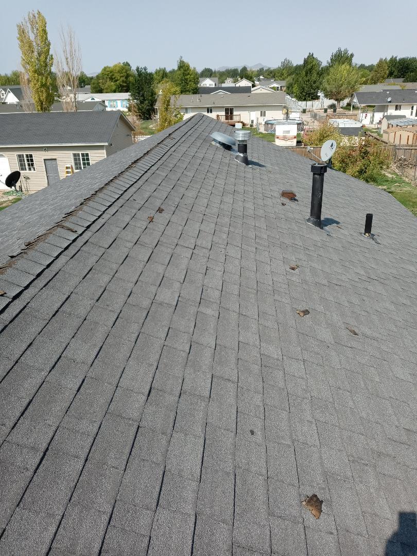 Enoch, UT - Mesuring roof in Enoch Utah