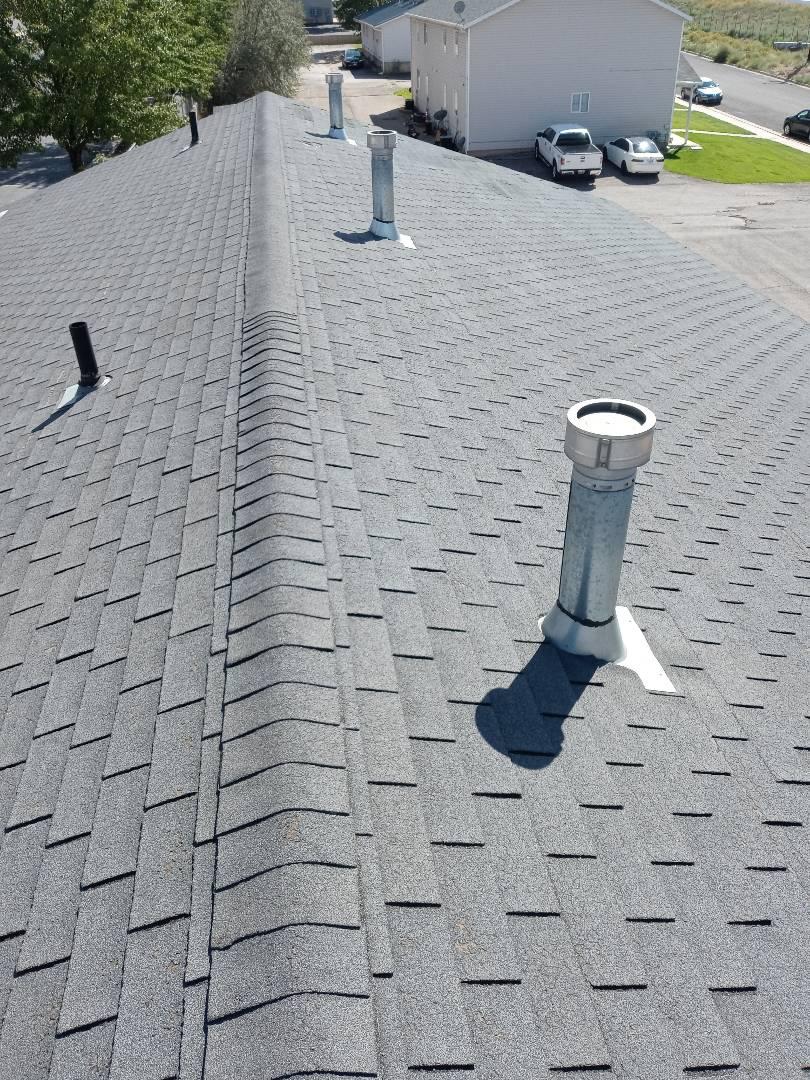 Cedar City, UT - Mesuring roof in Cedar City