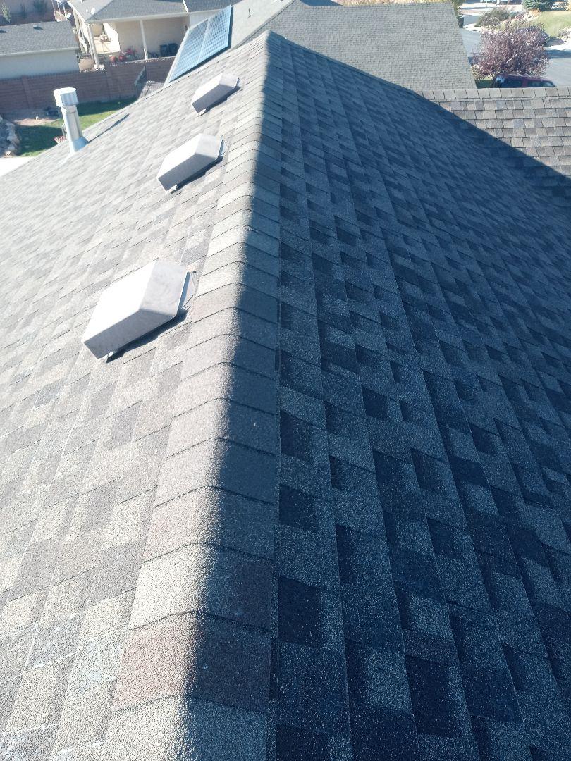 Cedar City, UT - Mesuring a roof in cedar city utah