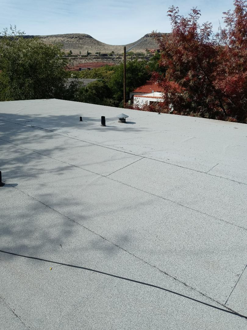 St. George, UT - Flat roof in St George