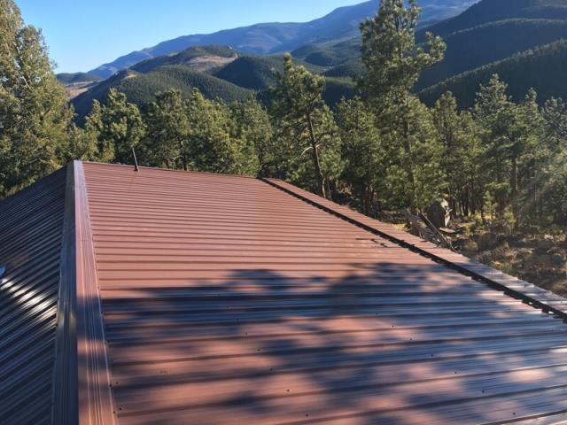 Bailey, CO - New Pro Panel Roof.