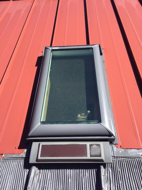 Greenwood Village, CO - R&R Roofing repaired a leaking skylight for this homeowner.