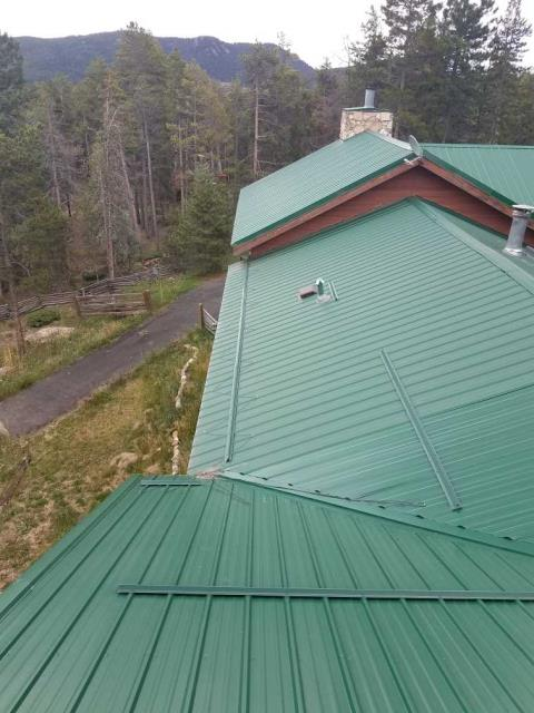 Conifer, CO - R&R Roofing repaired a leak in the front valley for this customer.