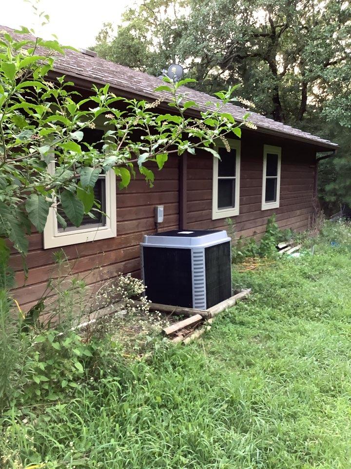 Natural Dam, AR - Replaced 8 windows in Mr.Garnaat's house
