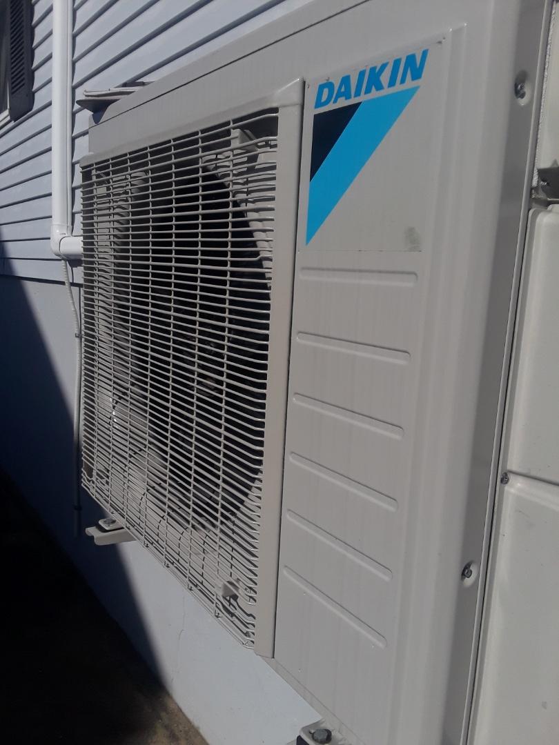 Shrewsbury, MA - Repair on a Daikin heat pump unit