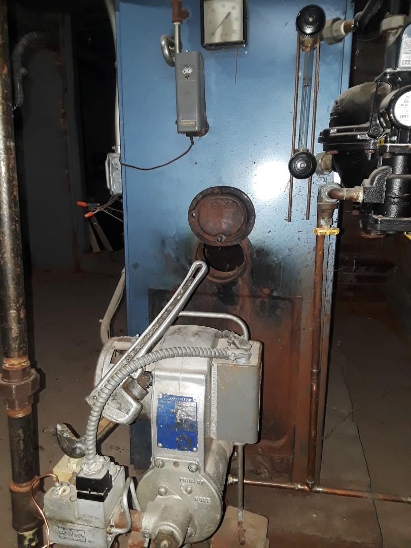 Fitchburg, MA - Heat repair on a utica gas boiler