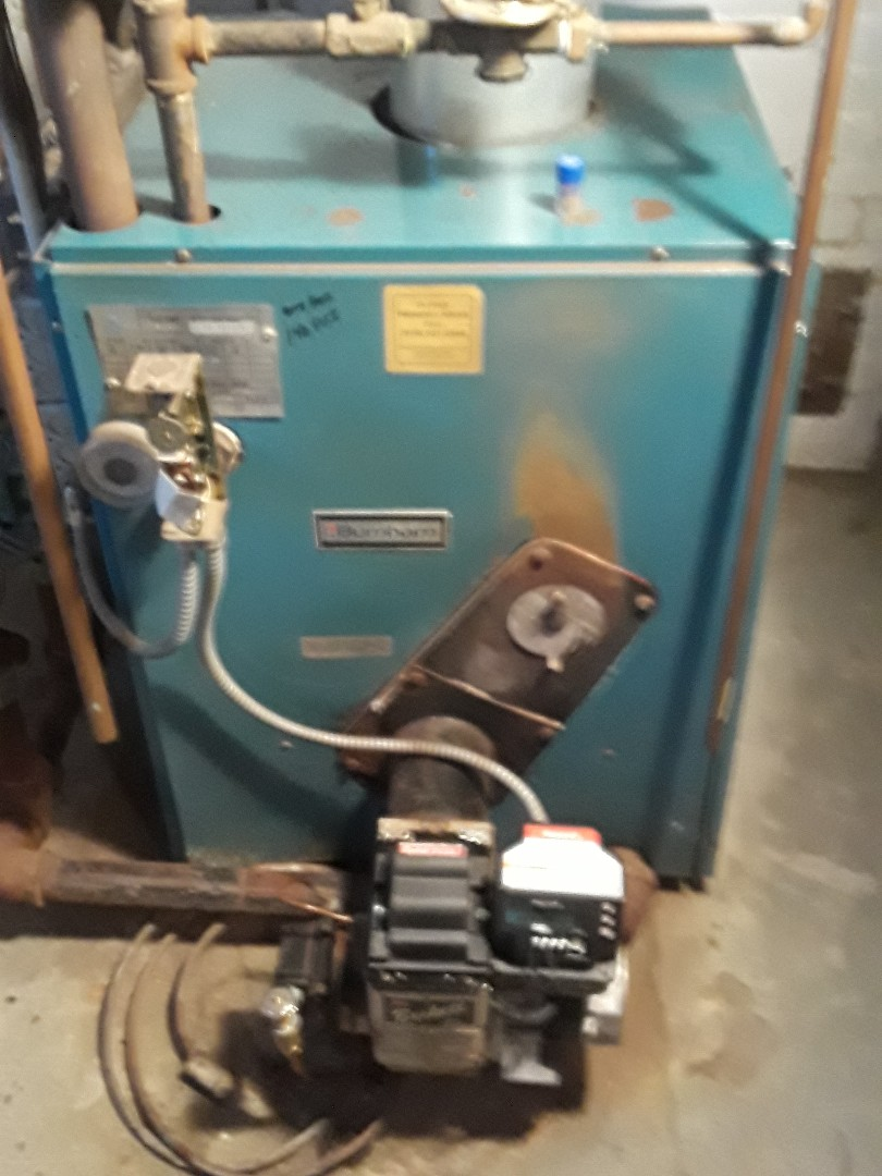 Leominster, MA - Clean and check burnham oil boiler