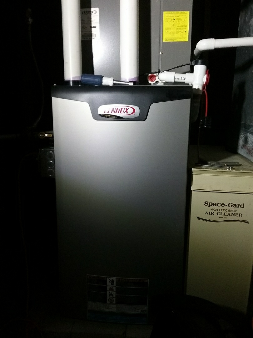 Shrewsbury, MA - Service on a lennox gas air system