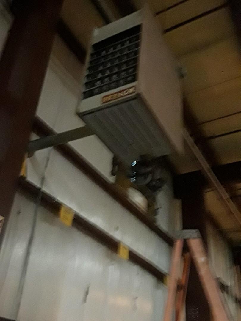 Millbury, MA - Heat repair on a Reznor  heating unit