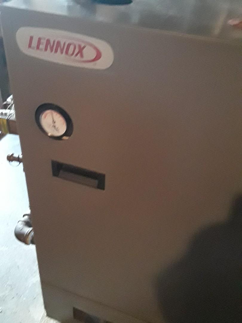 Leominster, MA - Repair on a Lennox gas boiler