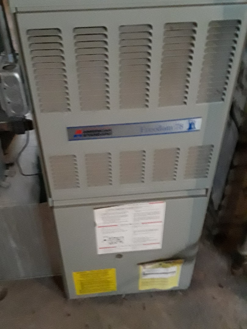 Worcester, MA - Heat repair on a American Standard gas Furnace