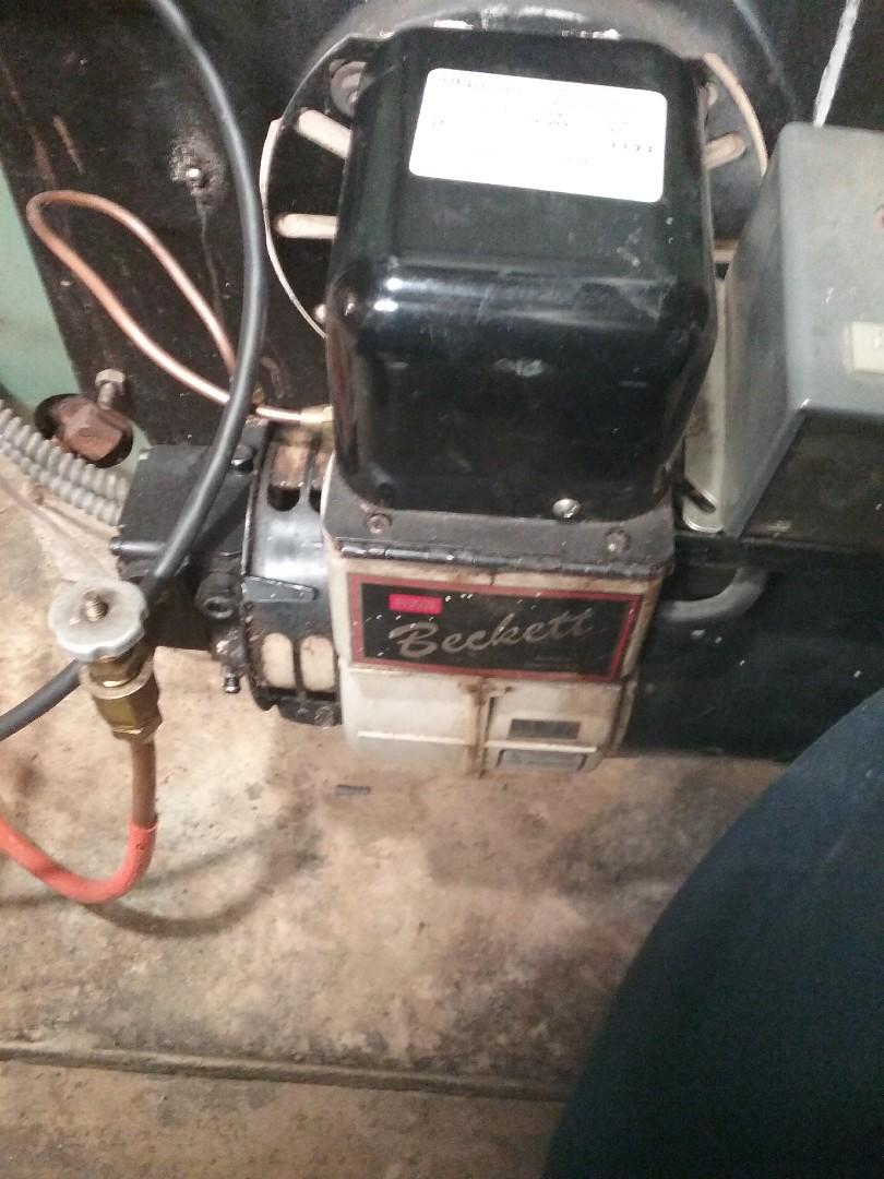 Leominster, MA - Service on a beckett oil burner