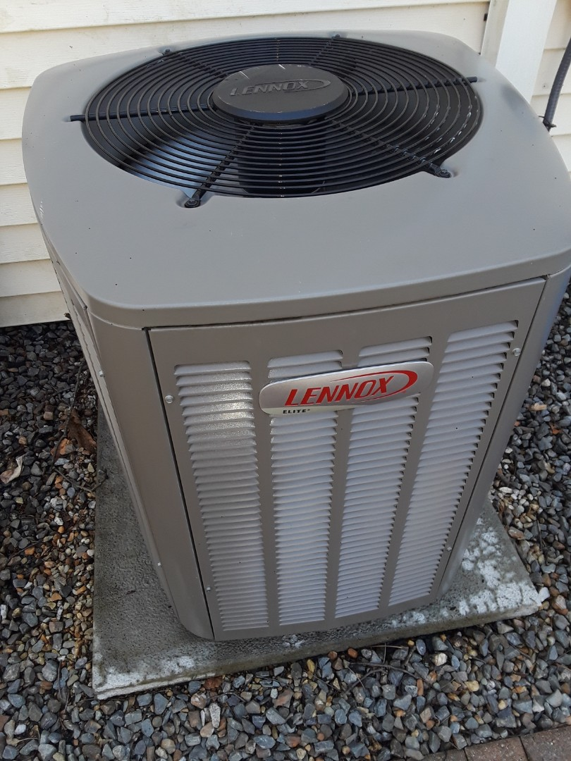Milford, MA - Clean and check Lennox AC unit