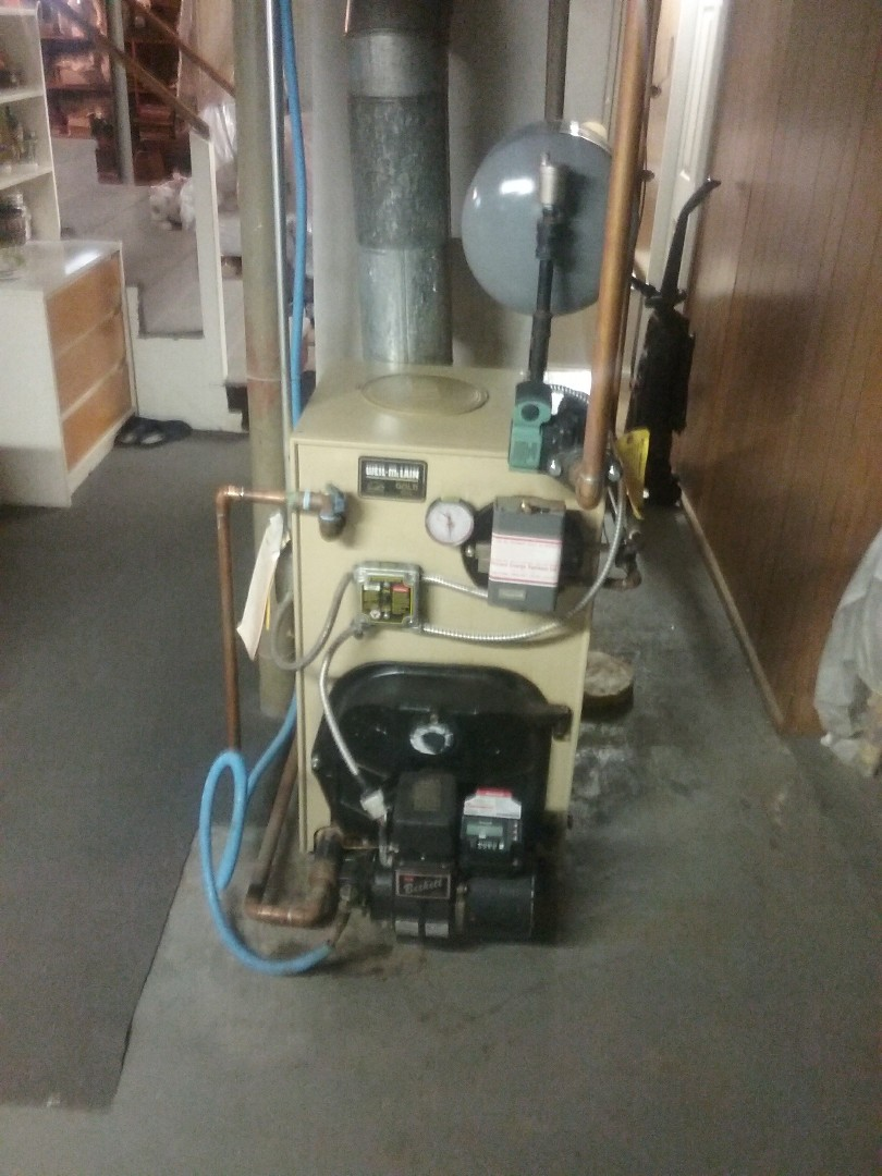 Natick, MA - Service on a weil McClain oil fired boiler