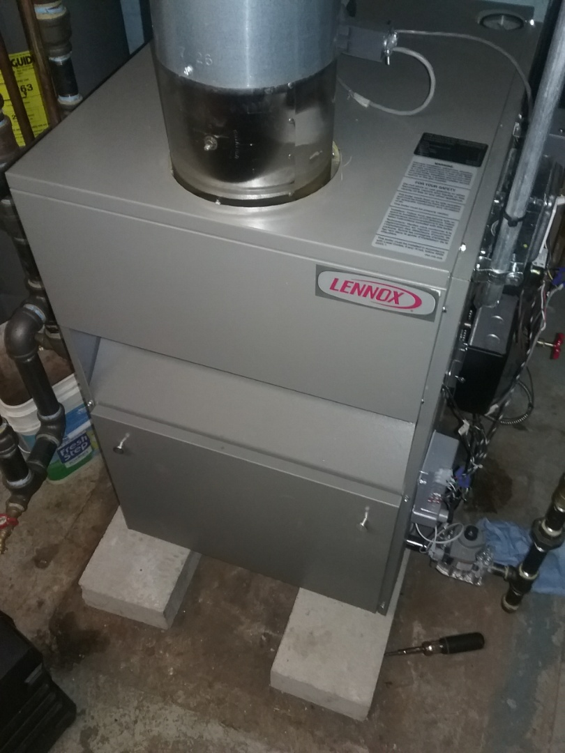 Worcester, MA - Service on a lennox gas steam boiler