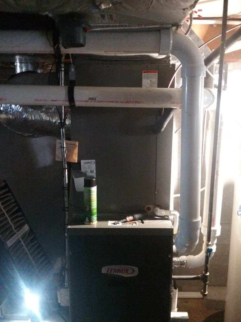 Northborough, MA - Service on a lennox air conditioning coil