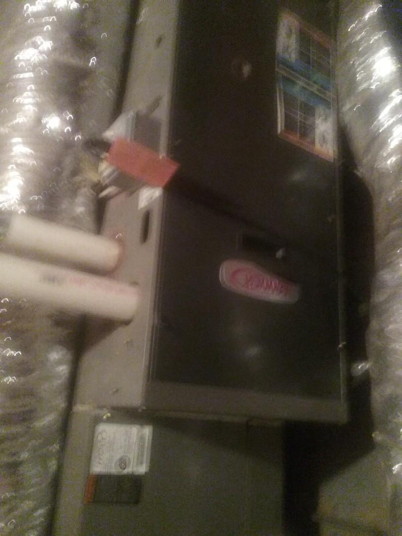Worcester, MA - Service of a lennox gas furnace