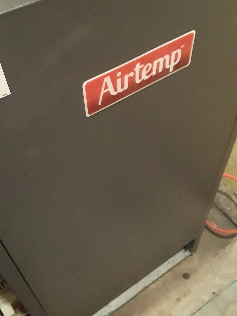 Leominster, MA - Heat repair on a AirTemp oil heating unit