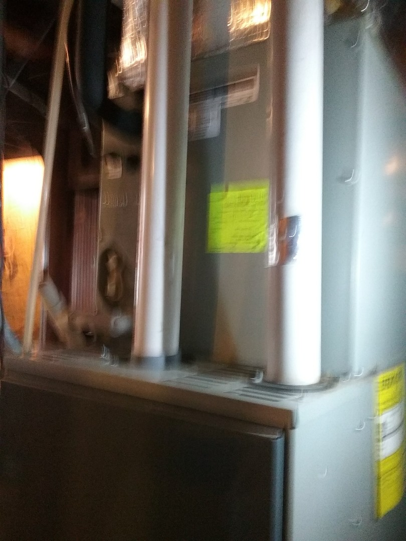 Worcester, MA - Service on a Trane evaporator coil