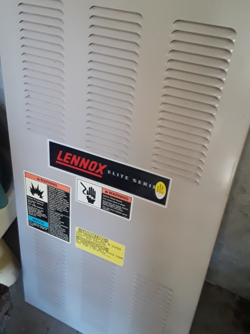 Shrewsbury, MA - Heat repair on a Lennox gas furnace