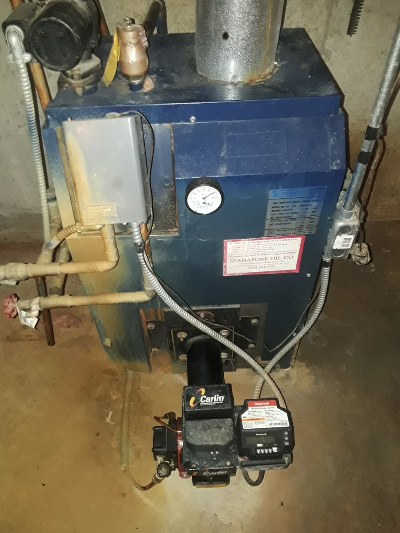 Leominster, MA - Clean and check Superior oil boiler