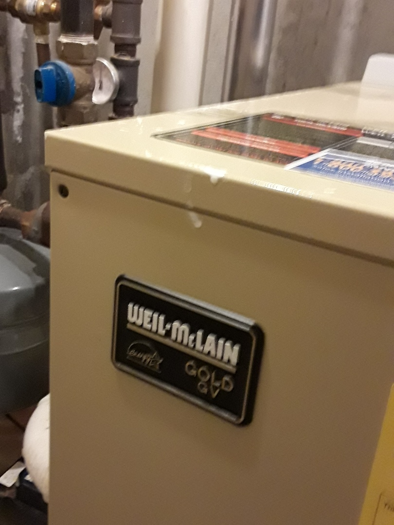 Shrewsbury, MA - Clean and Weil McLain gas boiler