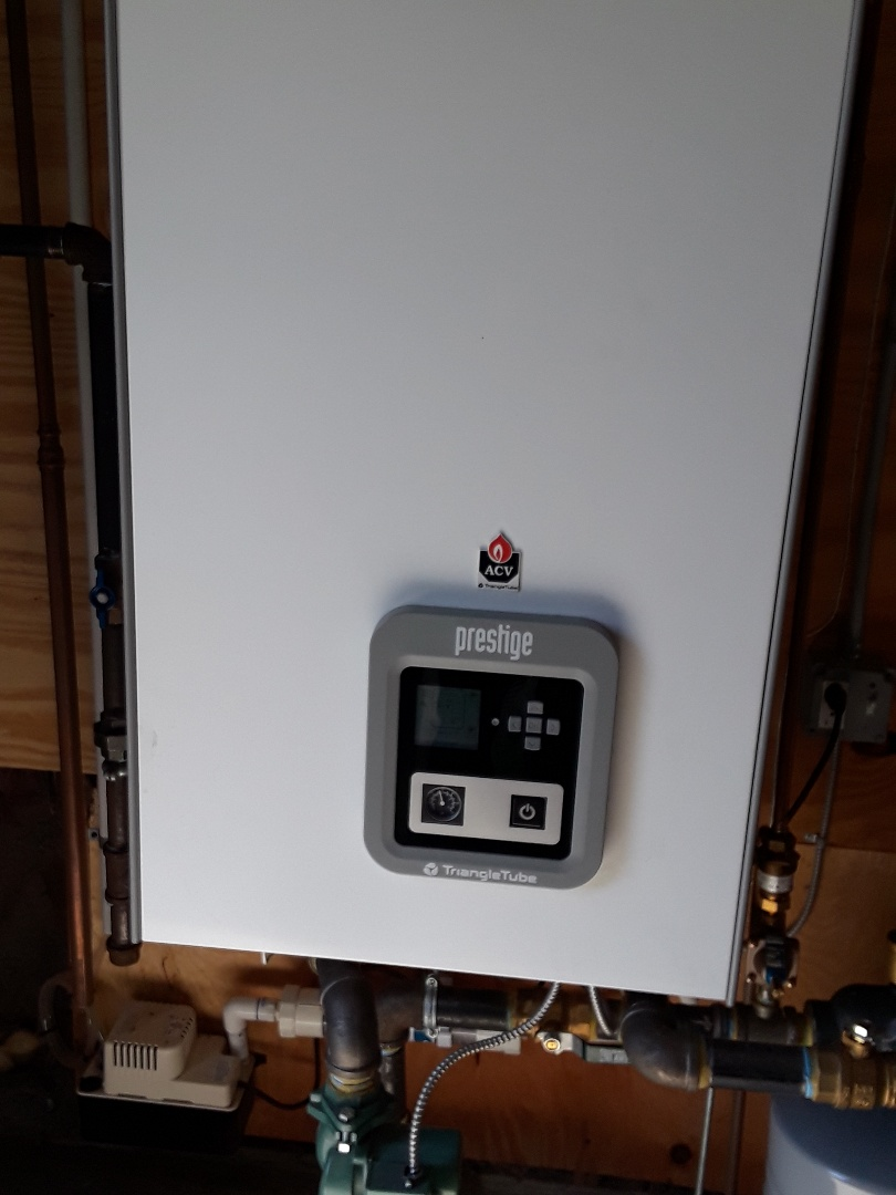 Ayer, MA - Clean and check Tringle Tube gas boiler