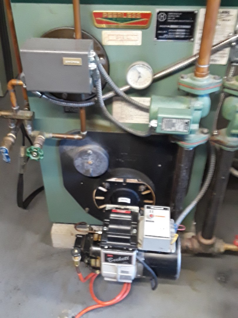 Lunenburg, MA - Clean and check Peerless oil heating unit