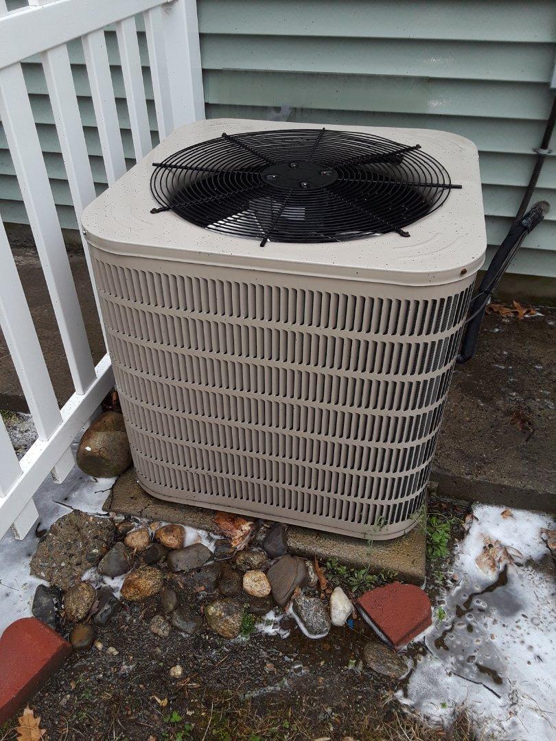 Fitchburg, MA - Clean and check  Ducane AC unit