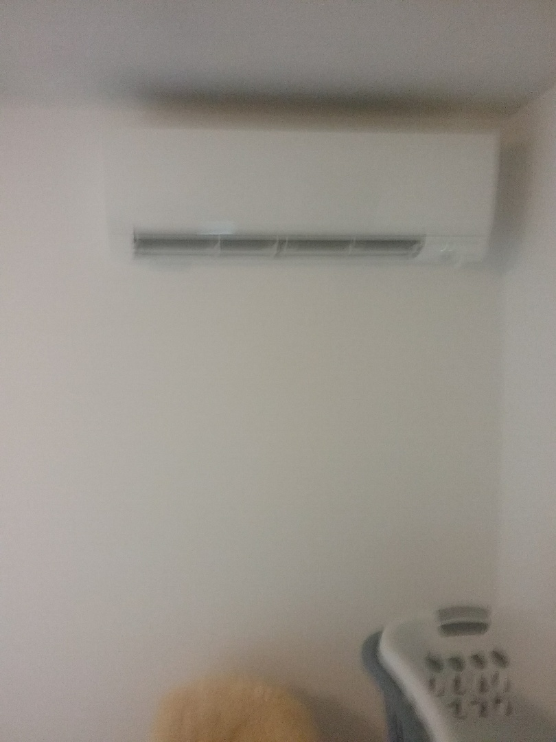 Worcester, MA - Service on a Mitsubishi ductless evaporator head