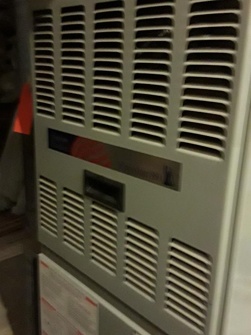 Millbury, MA - Clean and check American Standard gas furnace