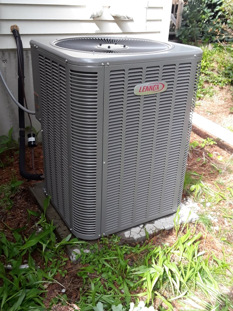 Northborough, MA - Clean and check Lennox AC unit