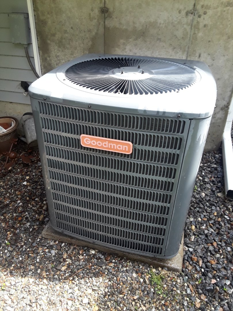 Worcester, MA - Clean and check Goodman AC unit