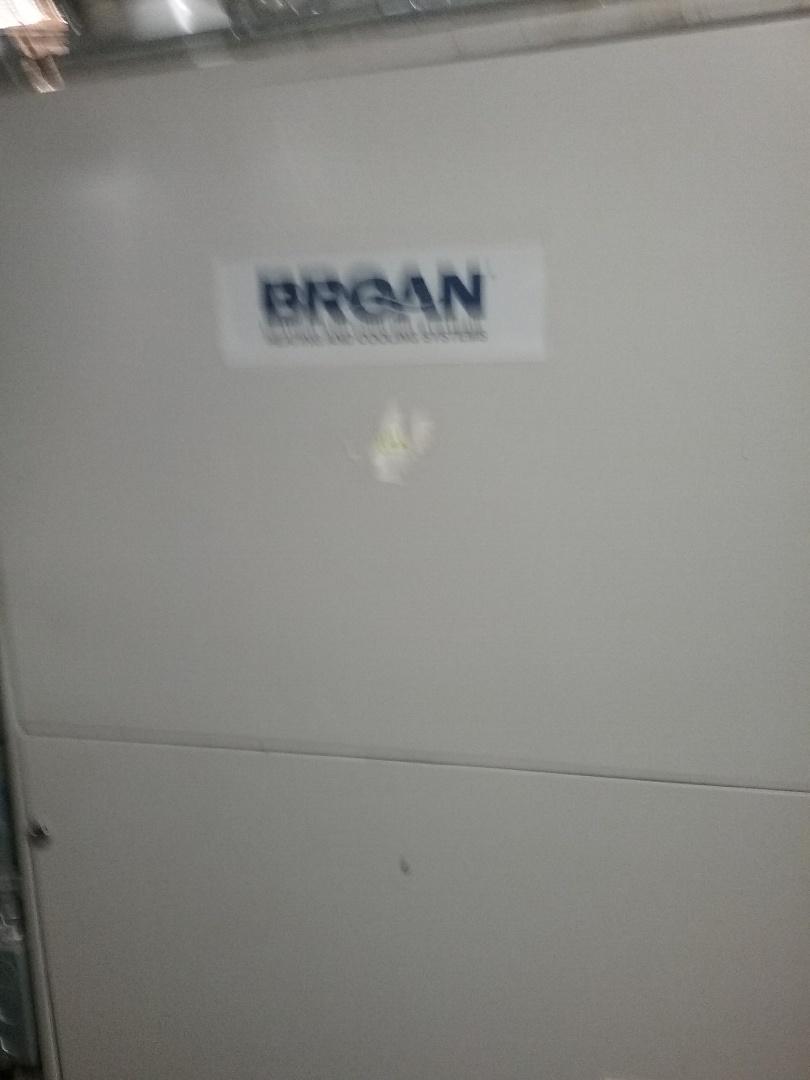 Millbury, MA - Service on a Broan gas air furnace
