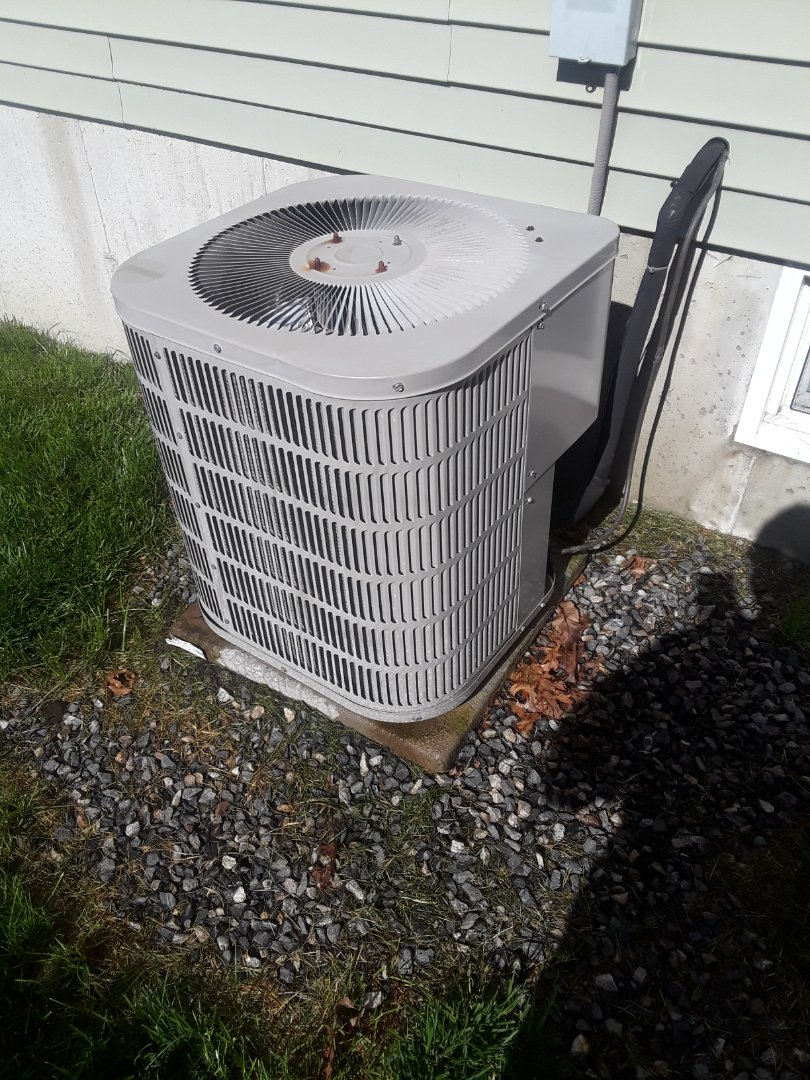 Clean and check Goodman AC unit