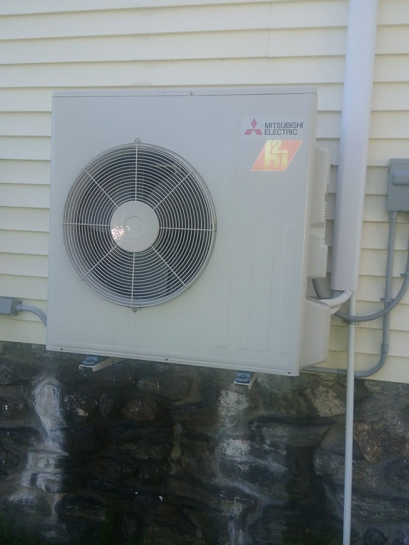 Millbury, MA - Preventive maintenance on a Mitsubishi ductless system