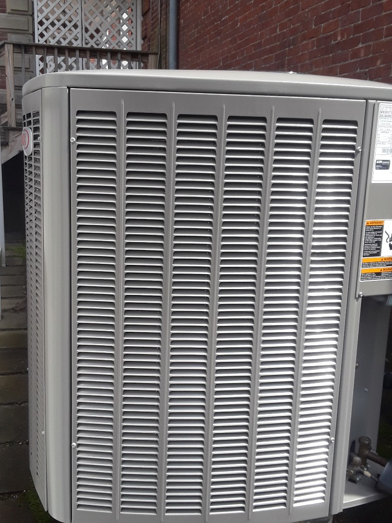 Clean and check Lennox AC unit