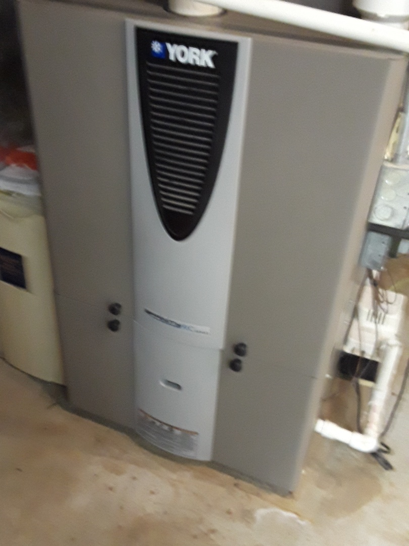 Westborough, MA - Clean and check York gas furnace